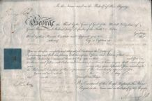 King George IV Prince Regent Autograph Signed Document